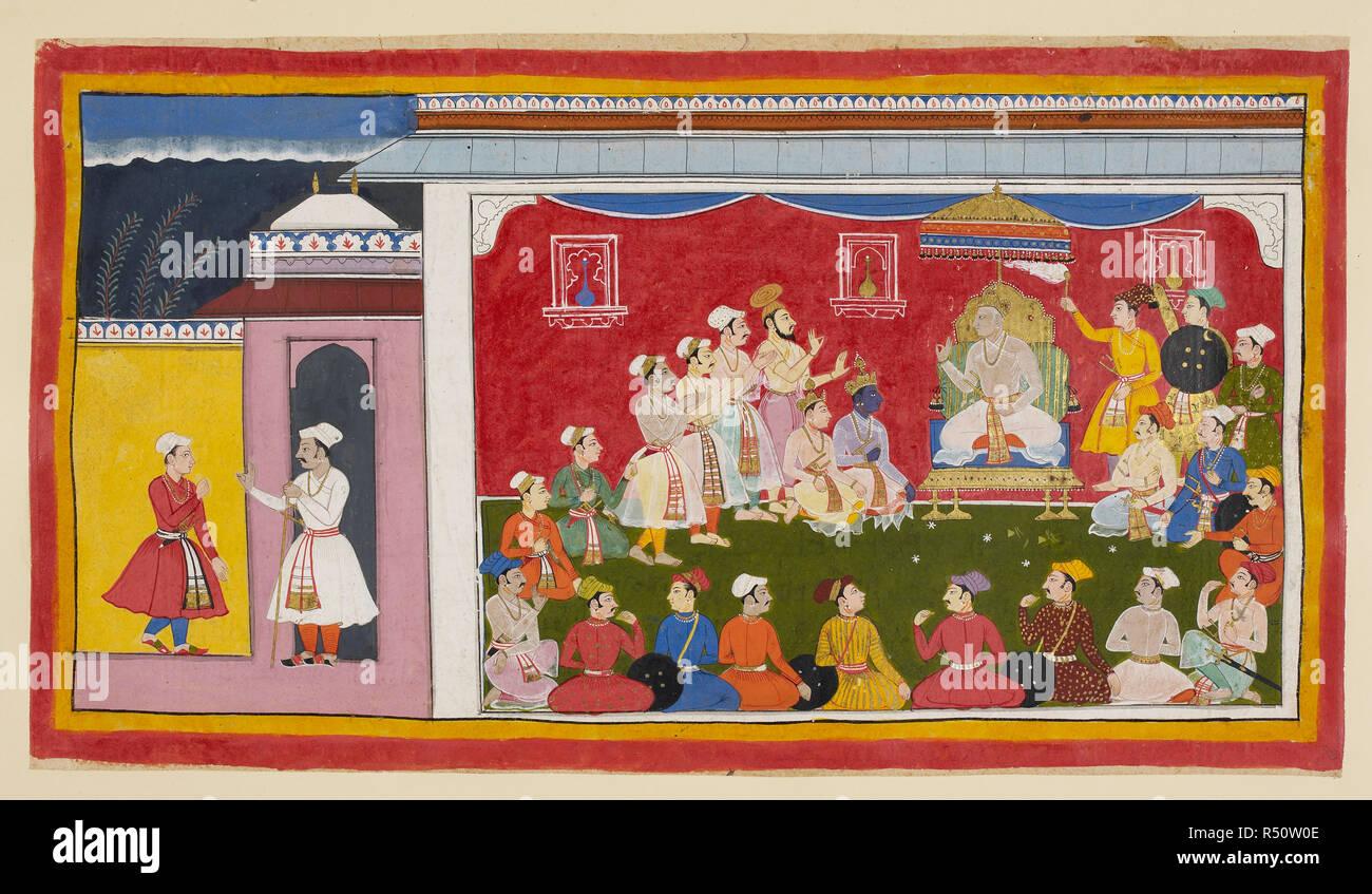 Scene From Ramayana Stock Photos & Scene From Ramayana Stock