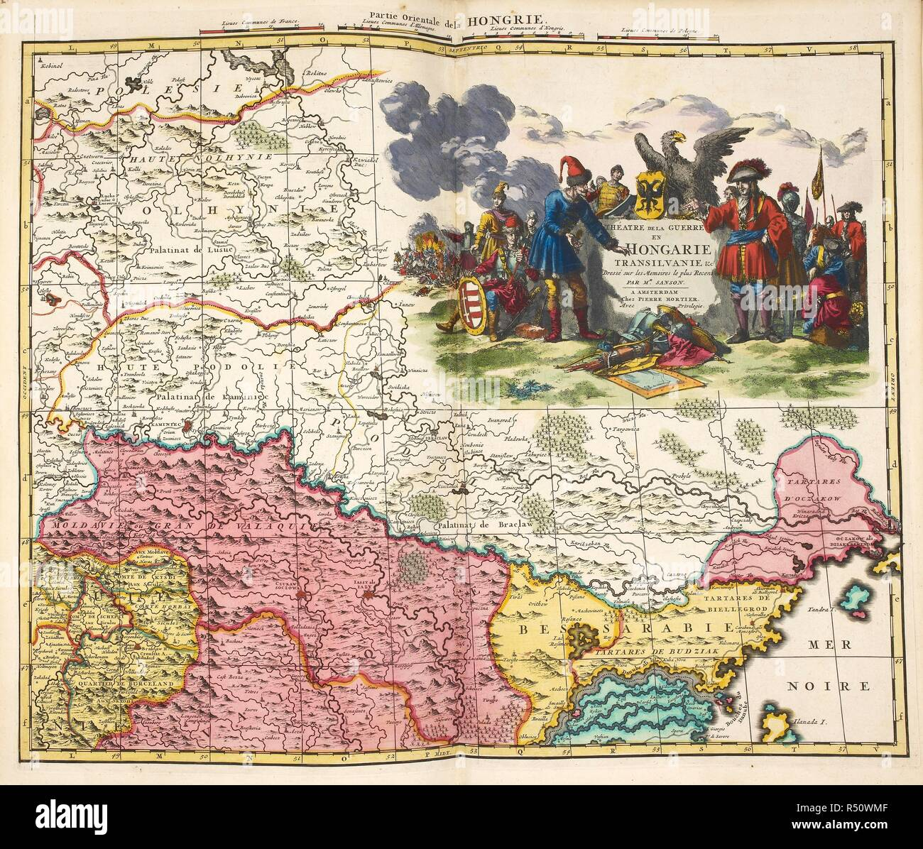 Map Of Hongarie Or Hungary In Europe A New Atlas With Updated