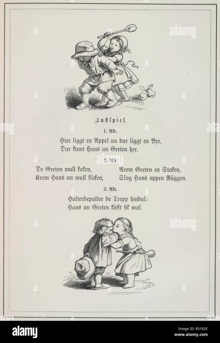Voer De Goern Kinderreime Alt Und New Mit 52 Leipzig 1855