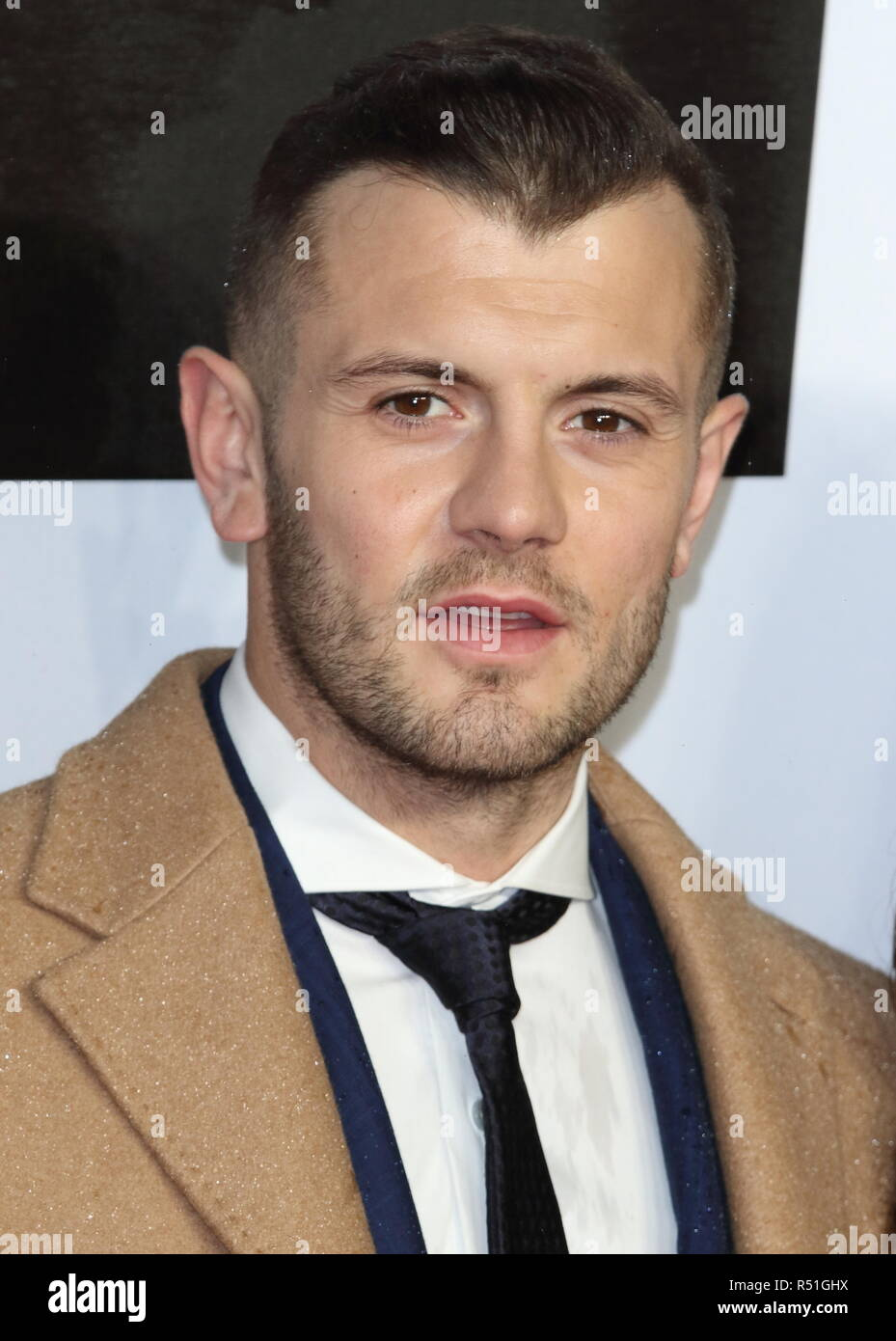 Jack Wilshere at the Creed 2 UK Premiere at the BFI Imax. - Stock Image