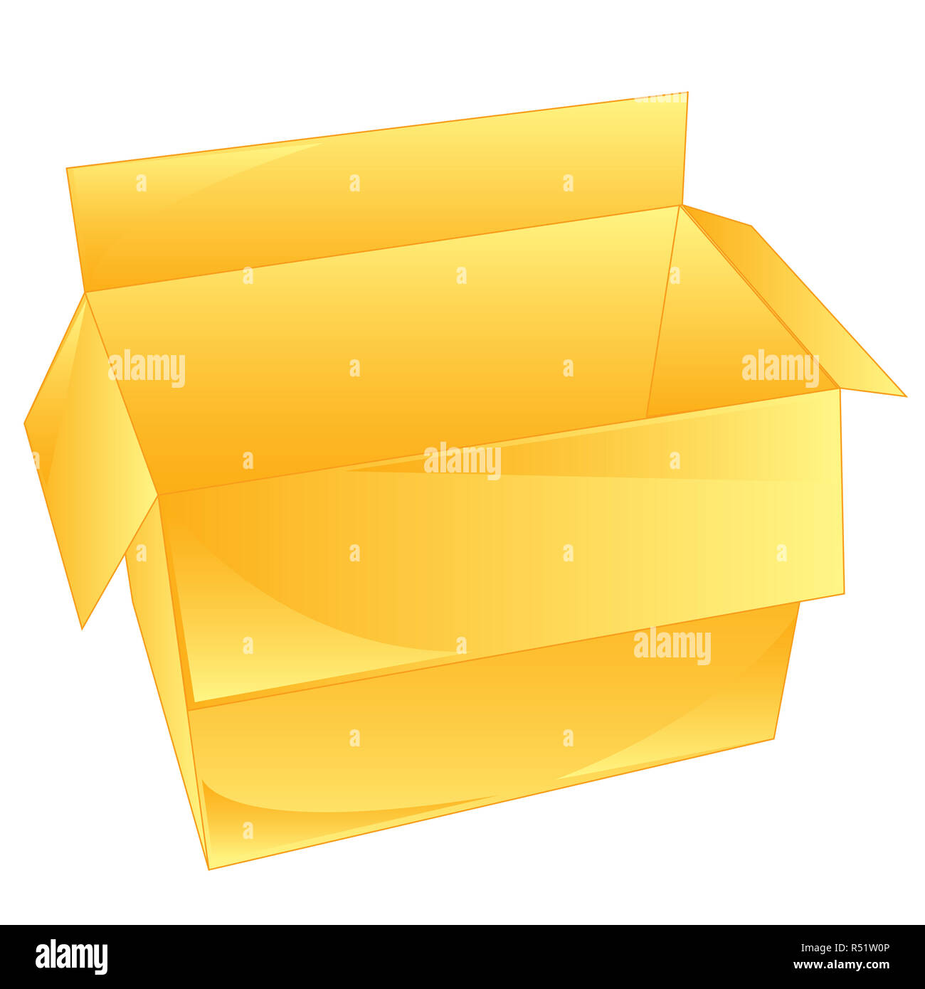 Carton Box - Stock Image