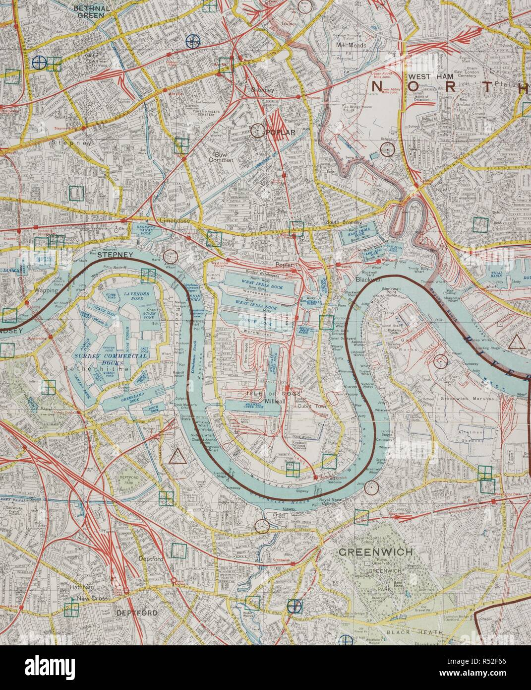 A Secret Map Of London Contingency Planning For The General Strike