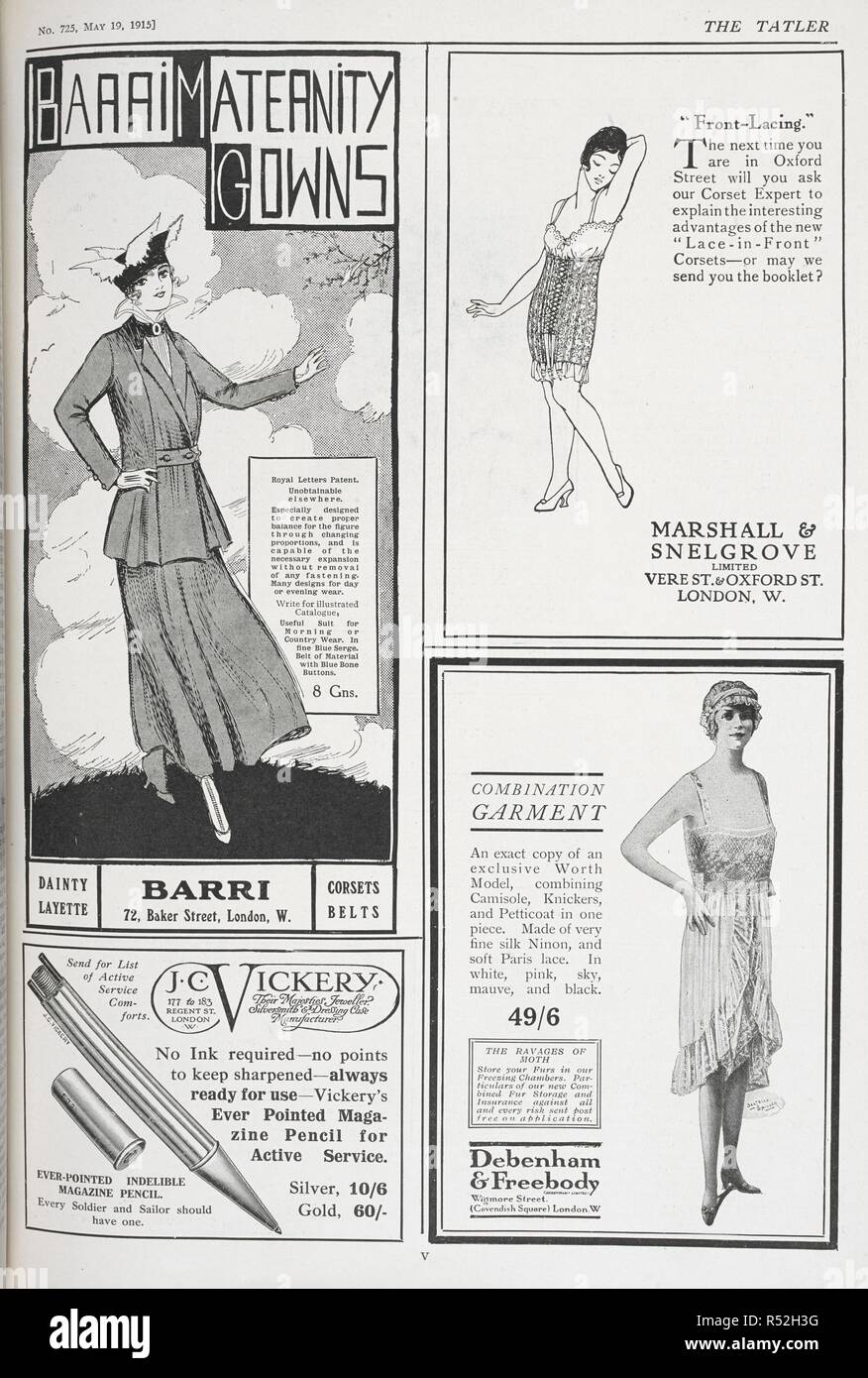 58b6ccd4f Advert 1915 Stock Photos   Advert 1915 Stock Images - Alamy