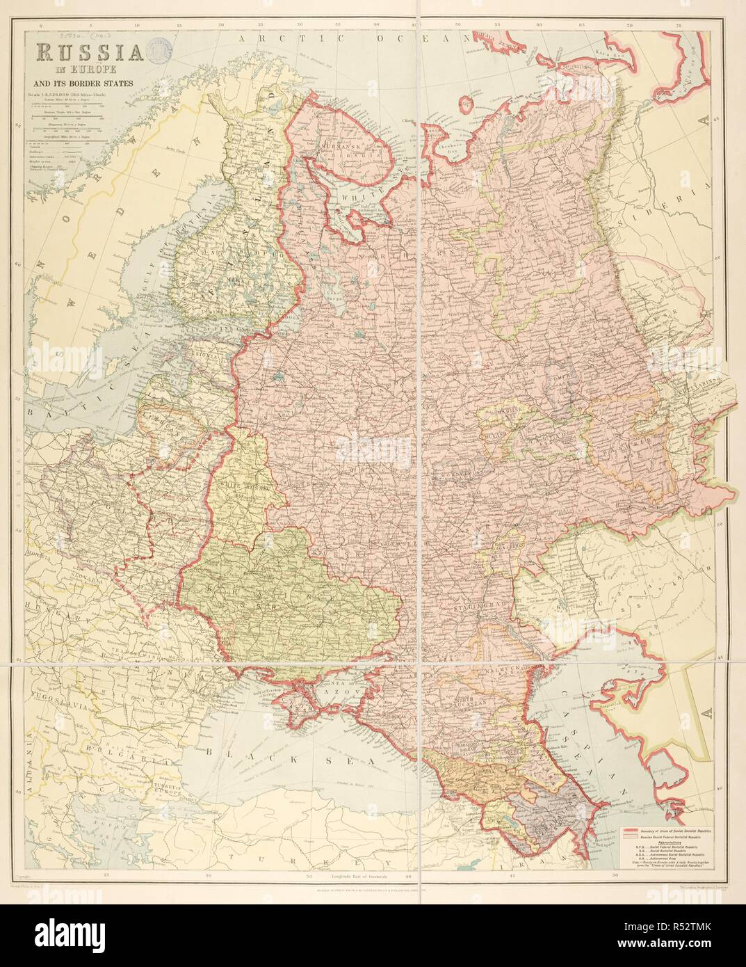 London Border Map.A Map Of Russia And Near Countries Dated 1940 The Map Shows The