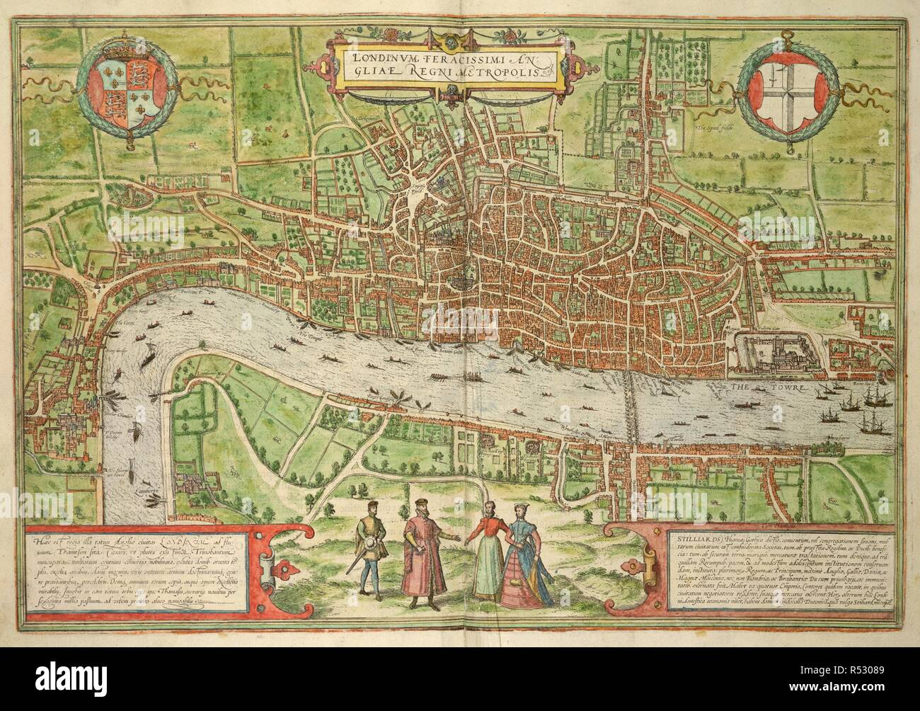 London 1600 Map.London Map 1600 Stock Photos London Map 1600 Stock Images Alamy