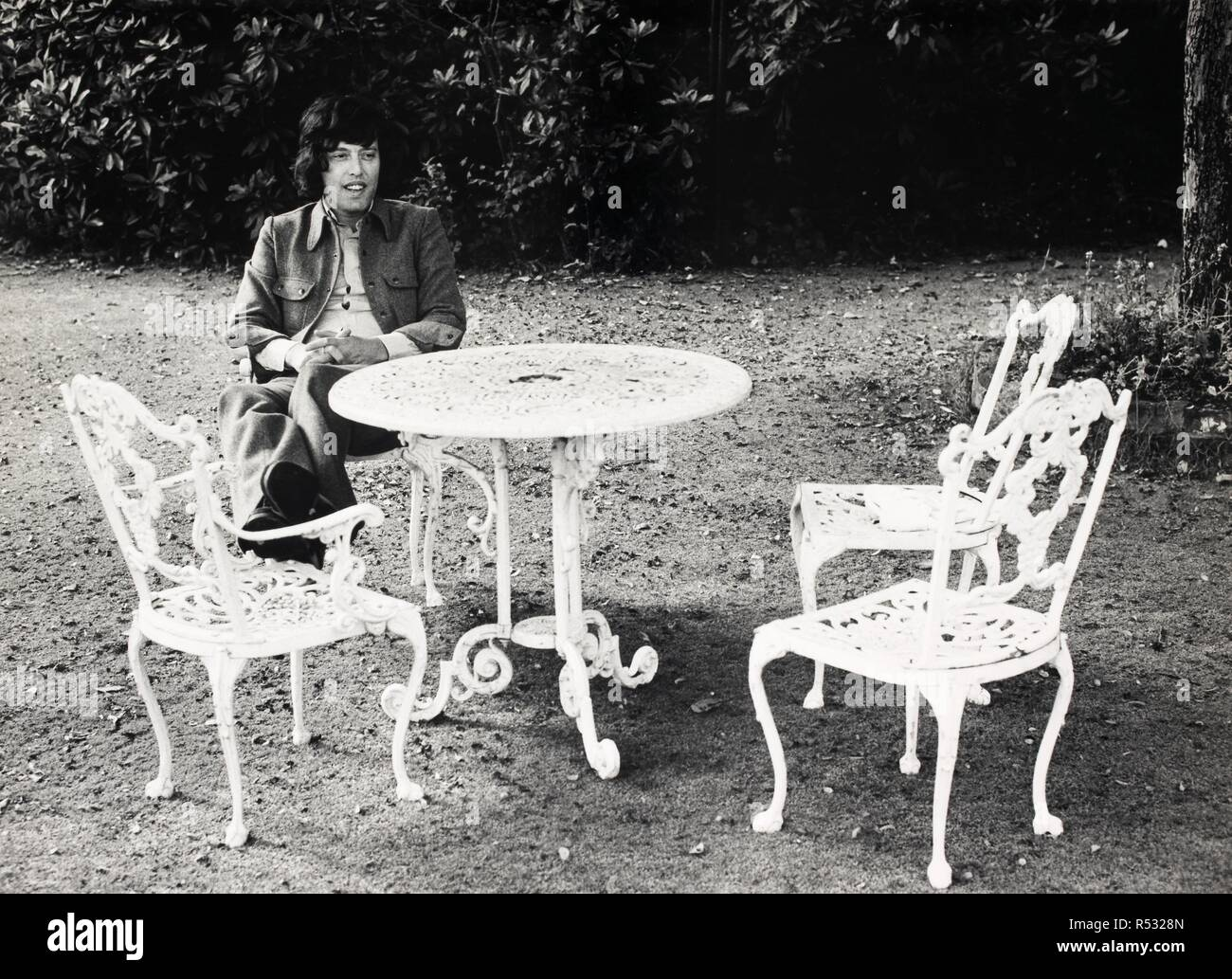 Tom Stoppard. Monochrome. Source: FG2101-6-27. - Stock Image