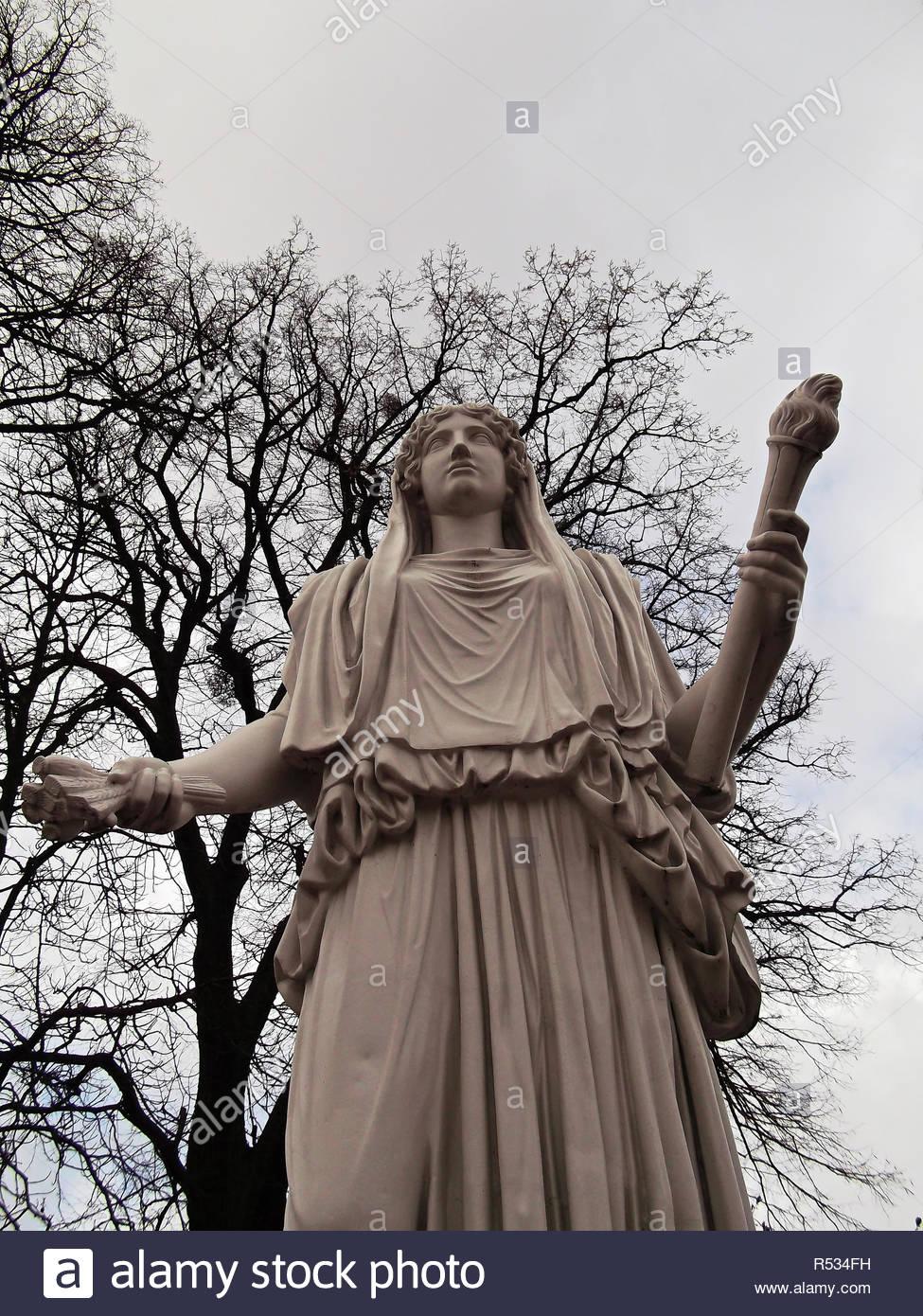 a mother goddess - Stock Image