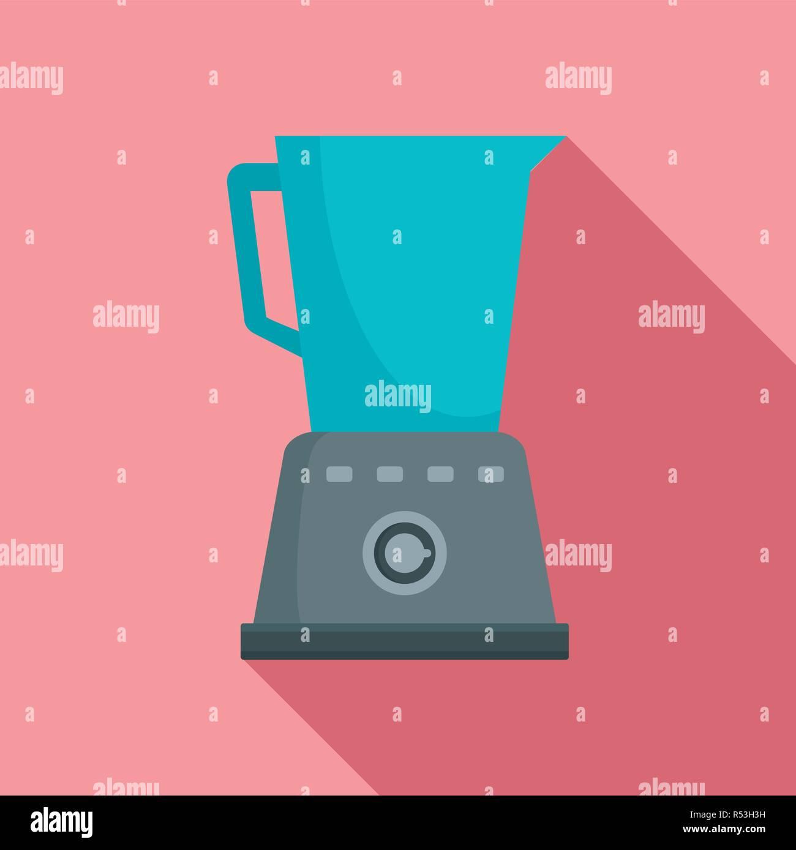 Kitchen blender icon  Flat illustration of kitchen blender