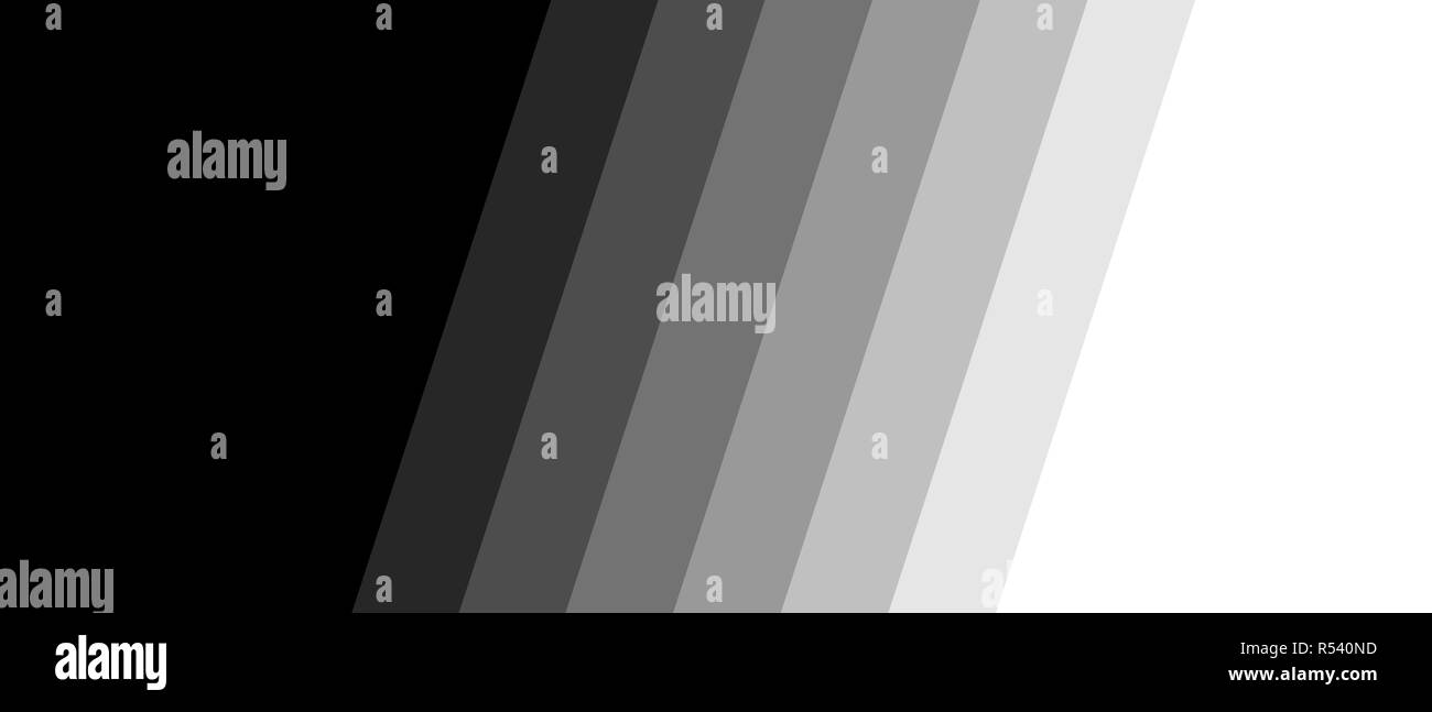 dark wide banner with diagonal stripes Stock Photo