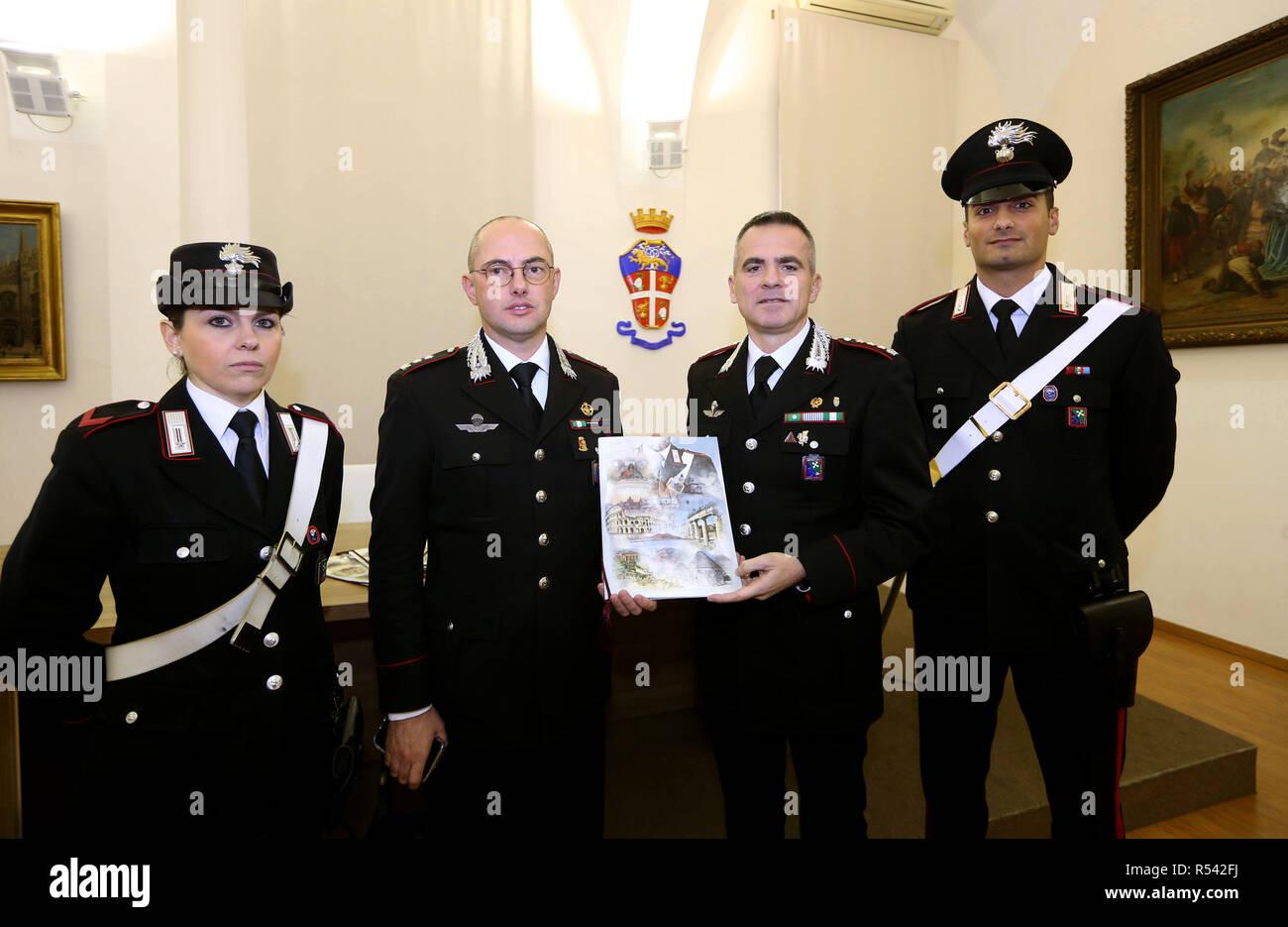 Foto Lapresse Stefano Porta 29112018 Milano Mi Cronaca