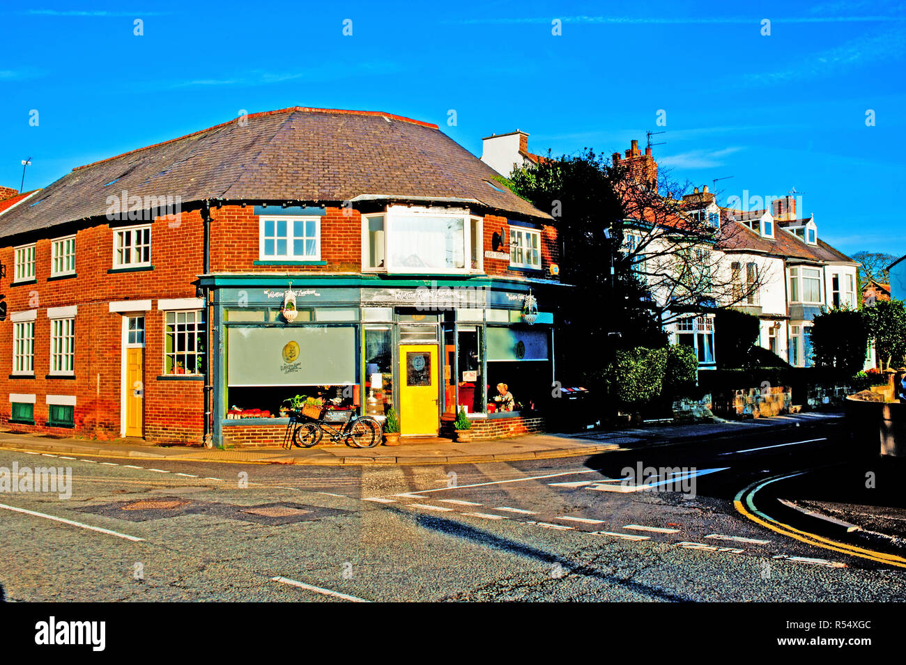 Velveteen Rabbitt Luncheon Cafe, Great Ayton, North Yorkshire, England - Stock Image
