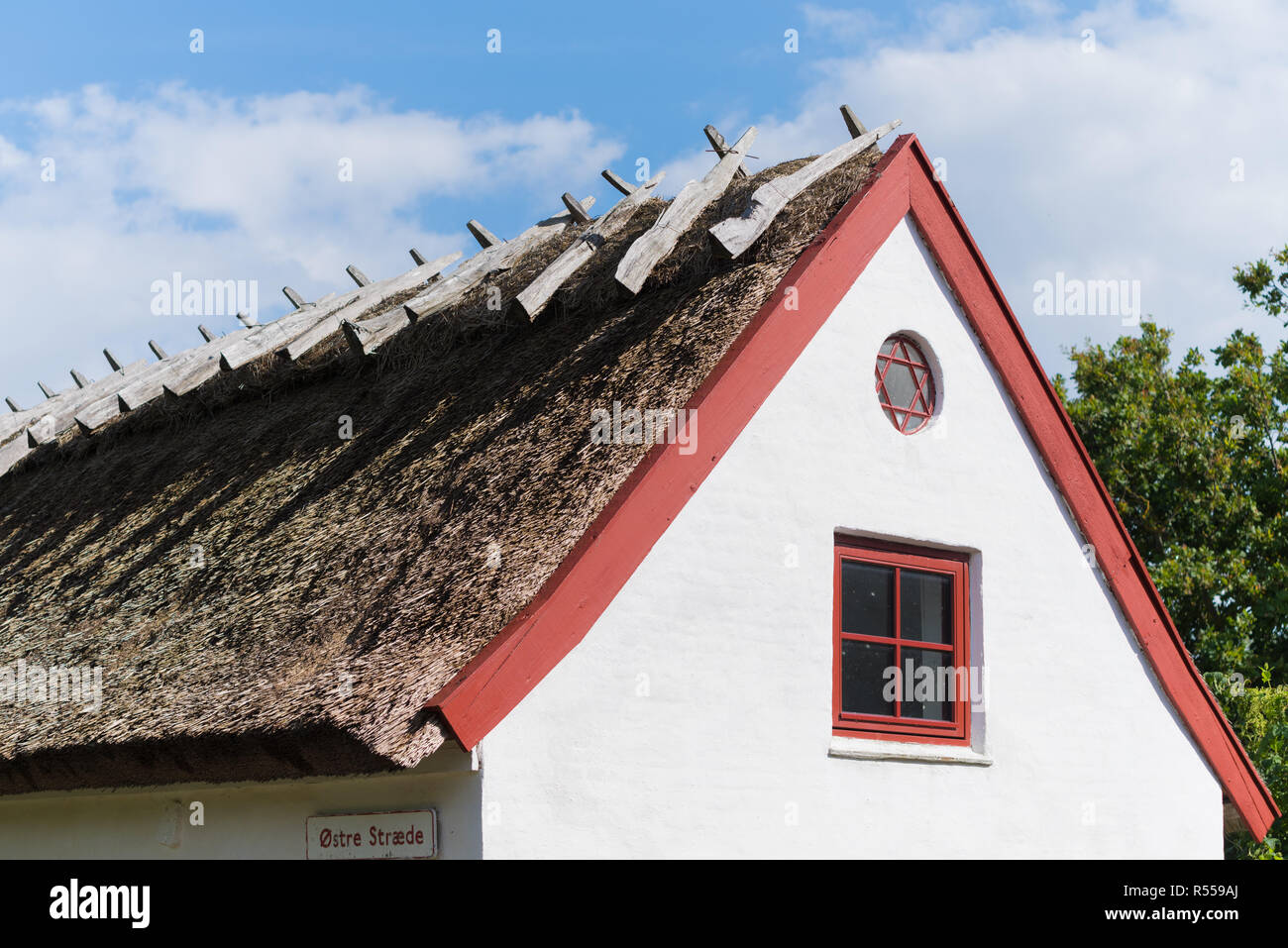 fishermen's village in denmark - Stock Image