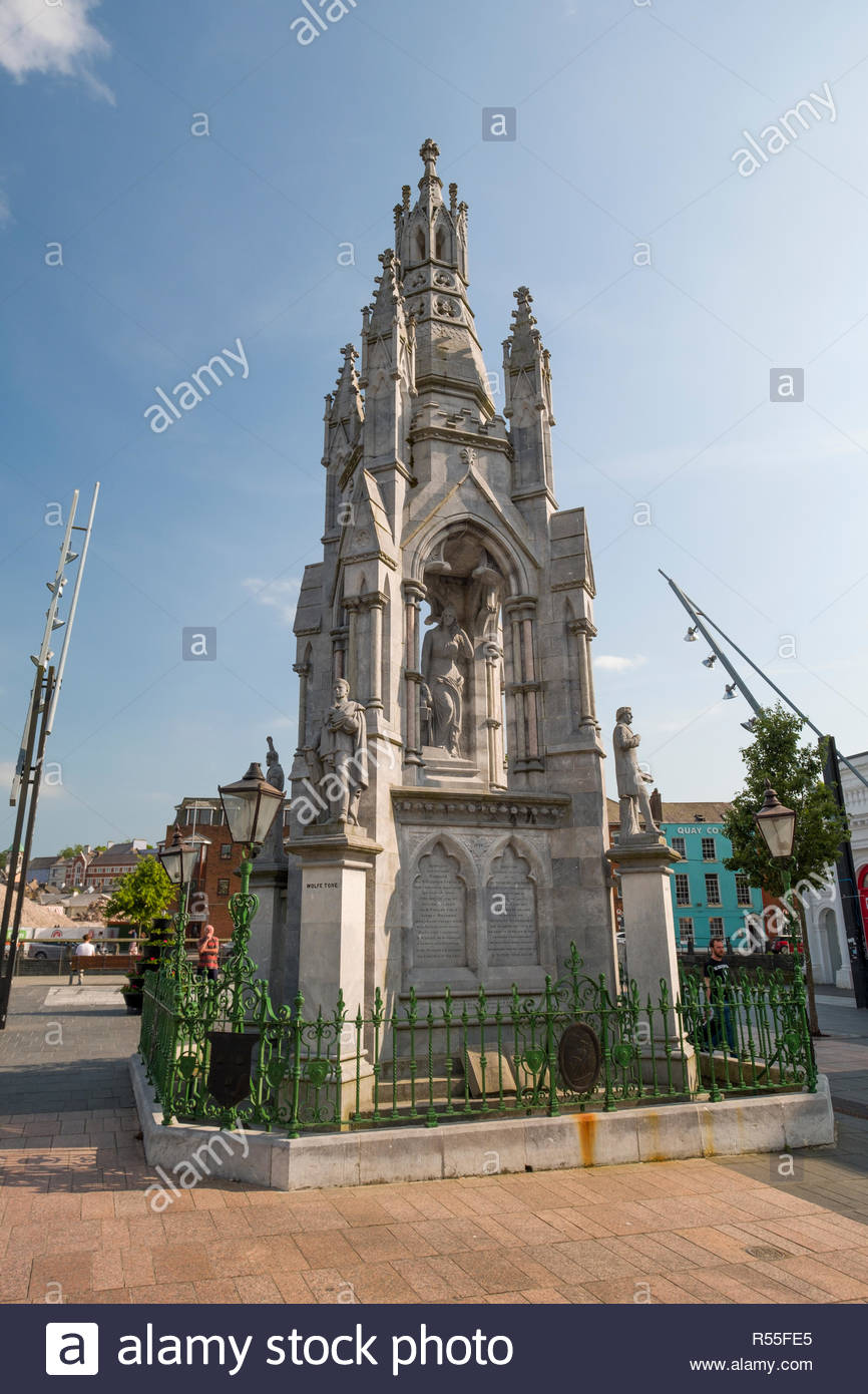 National Monument commemorates the rebellions of 1798, 1803, 1848 and 1867, Grand Parade, Centre, Cork, County Cork, Munster, Ireland Stock Photo