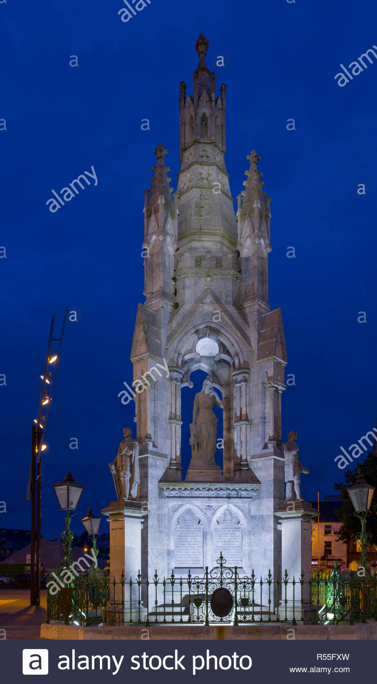 National Monument commemorates the rebellions of 1798, 1803, 1848 and 1867, Grand Parade, Centre, Cork, County Cork, Munster, Ireland - Stock Image