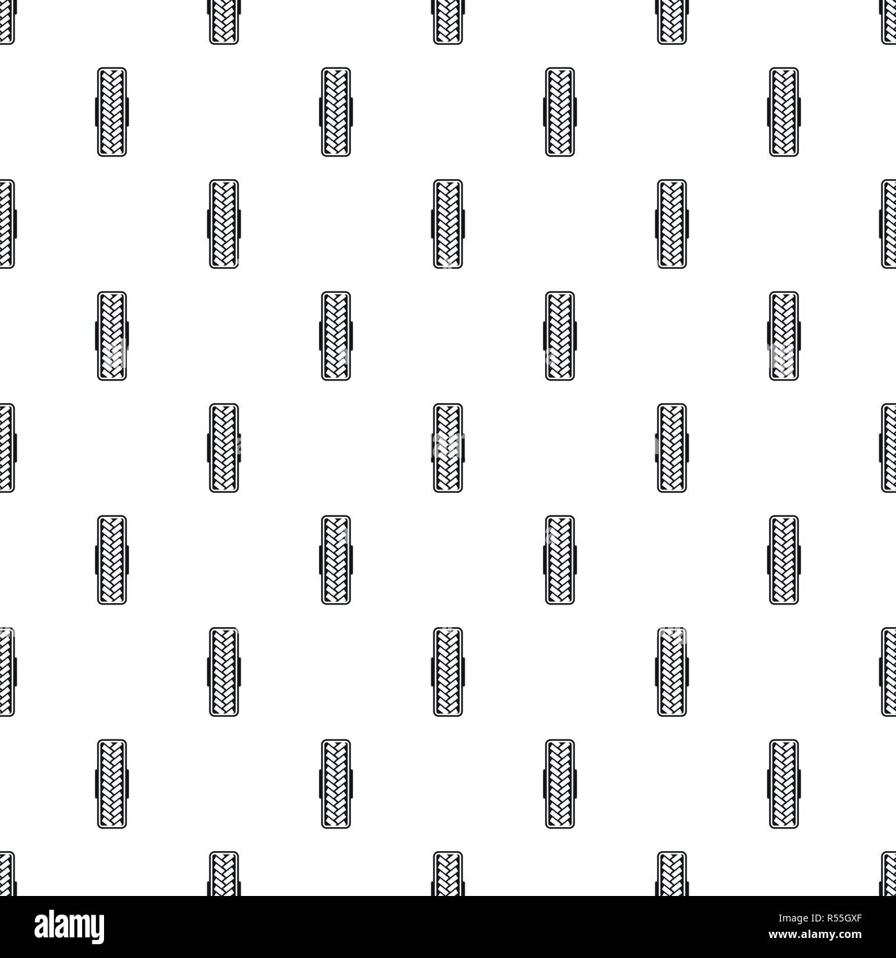 Tread pattern pattern seamless vector repeat geometric for any web design - Stock Vector