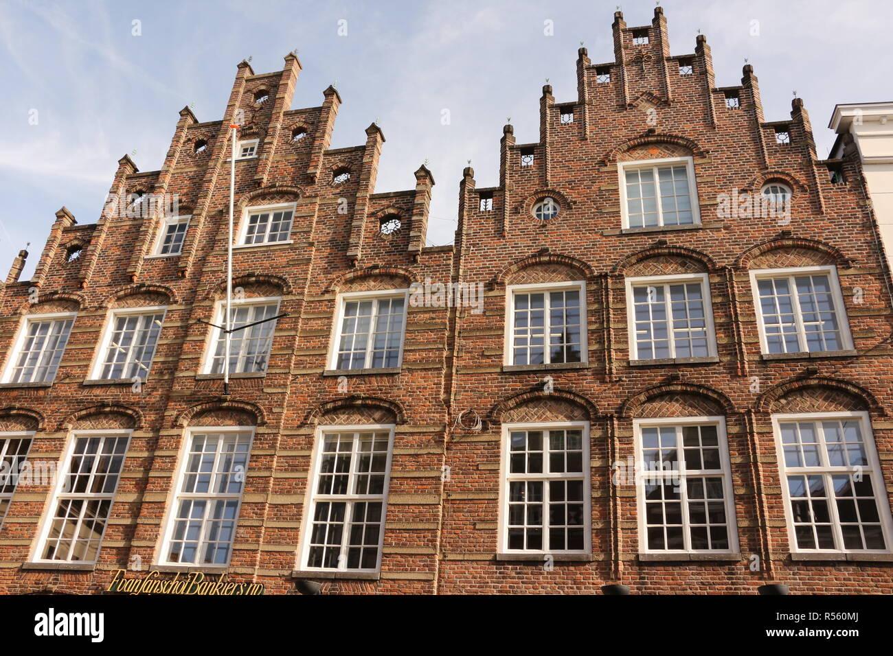 Im Zentrum von ´s-Hertogenbosch in Holland - Stock Image