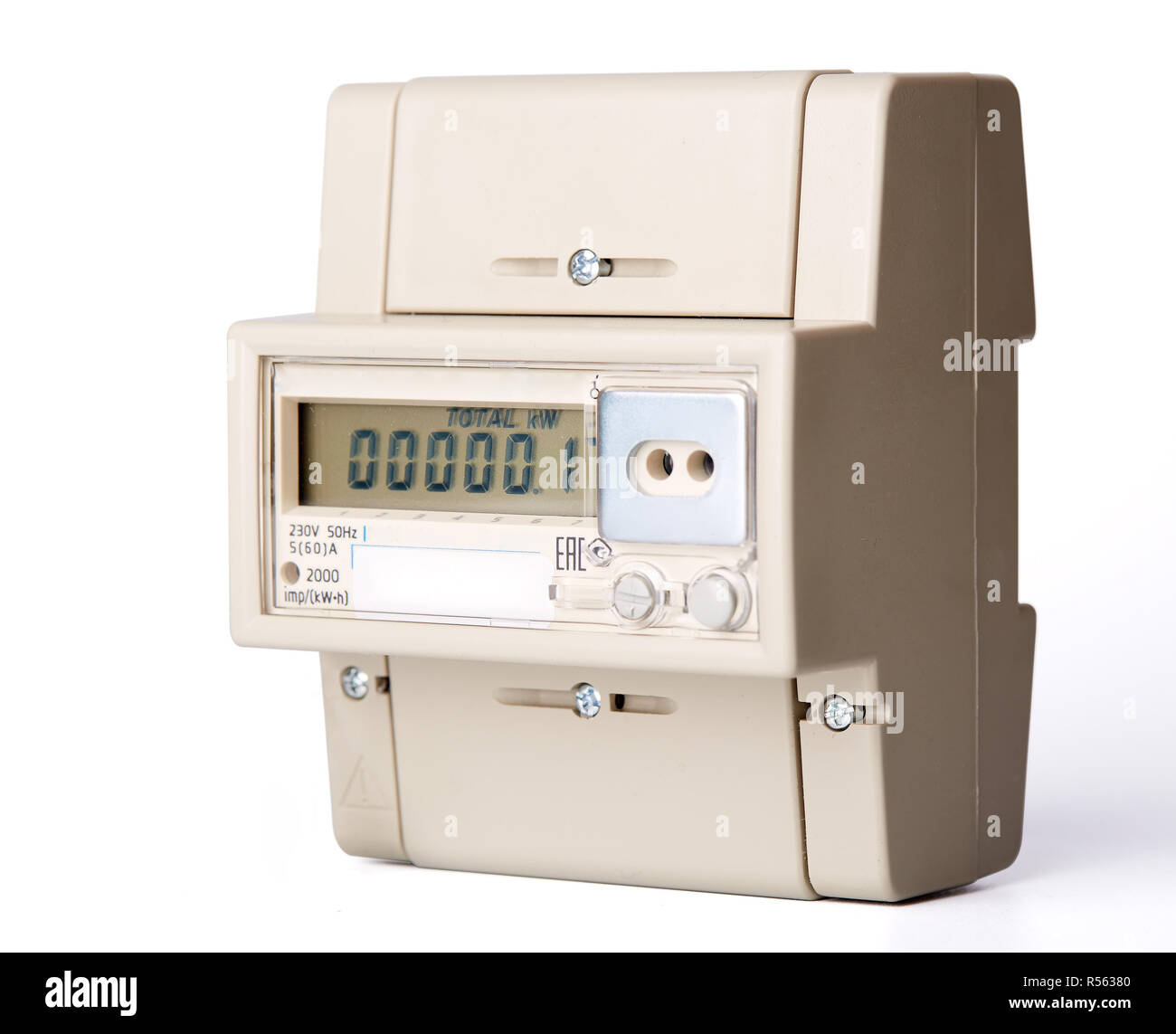 Electric meter. - Stock Image