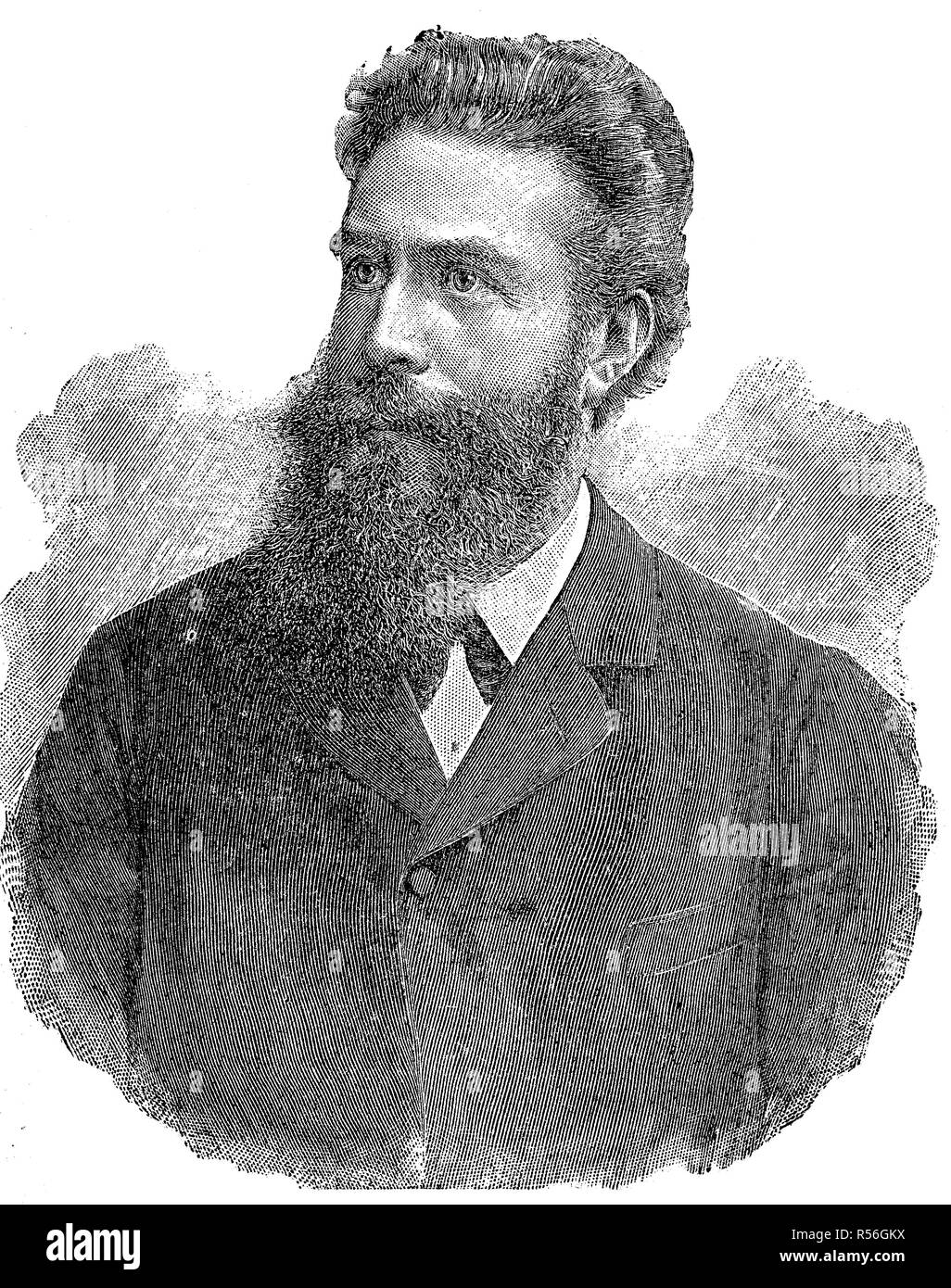 Wilhelm Conrad Rontgen High Resolution Stock Photography
