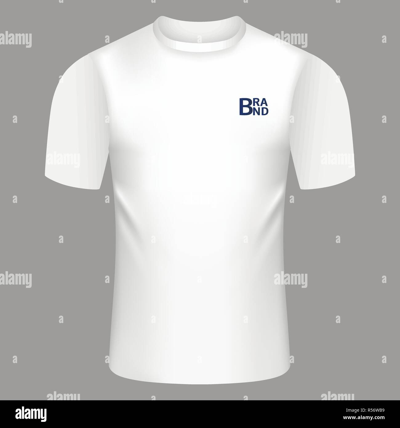 white tshirt icon realistic illustration of white tshirt vector icon for web design stock vector image art alamy alamy