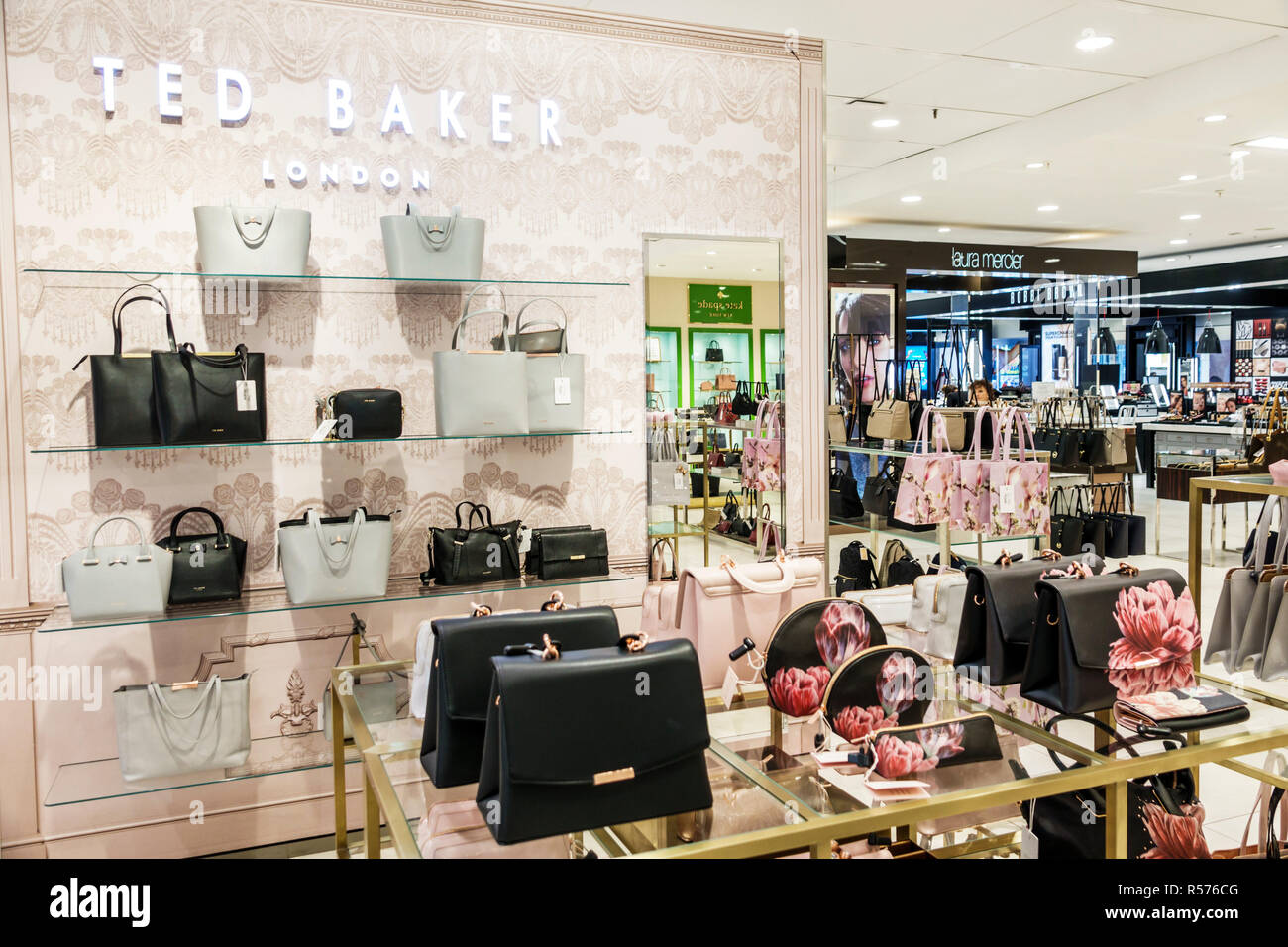 922c86bf4 United Kingdom Great Britain England London Westminster Victoria House of  Fraser shopping department store under bankruptcy administration handbags Te