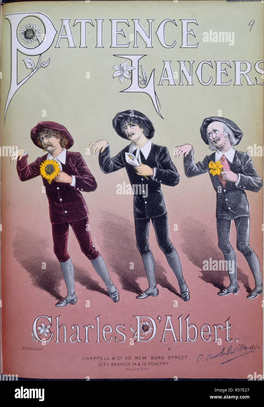 Patience lancers  Patience lancers (Polka, quadrille, waltz) on