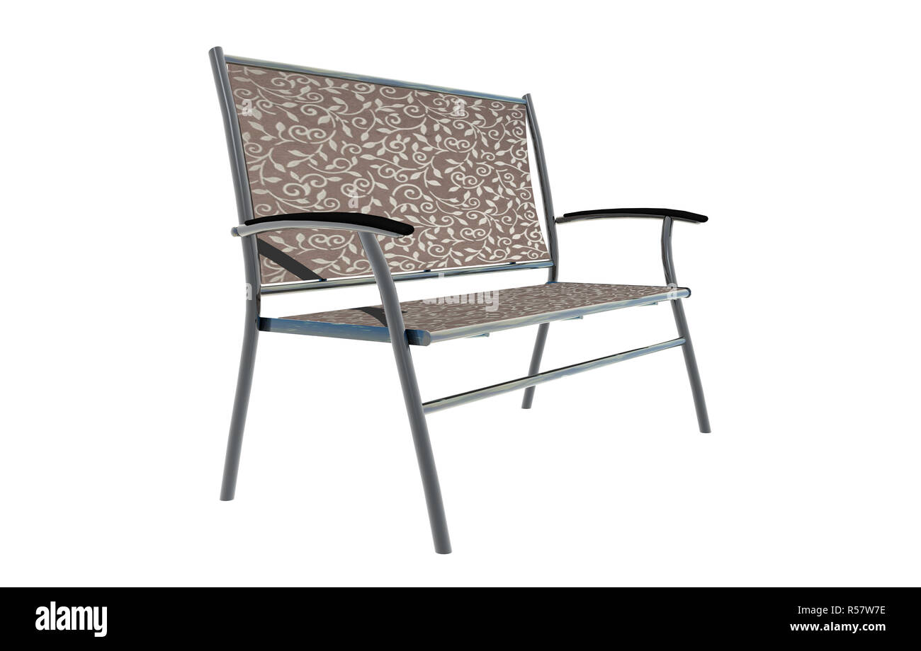 Cool Garden Bench With Steel Frame And Fabric Cover Optional Creativecarmelina Interior Chair Design Creativecarmelinacom