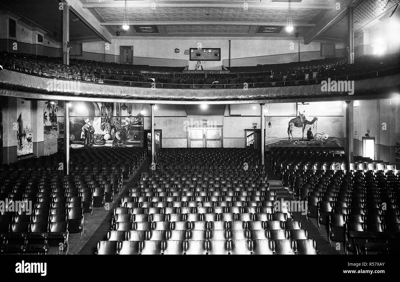 Movie Theaters Black and White Stock Photos & Images - Alamy