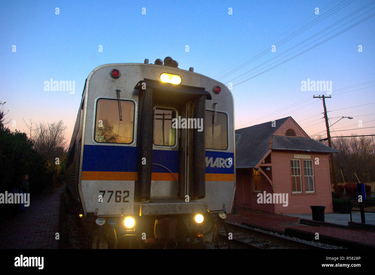 2005 - MARC Maryland Transit Administration train at the