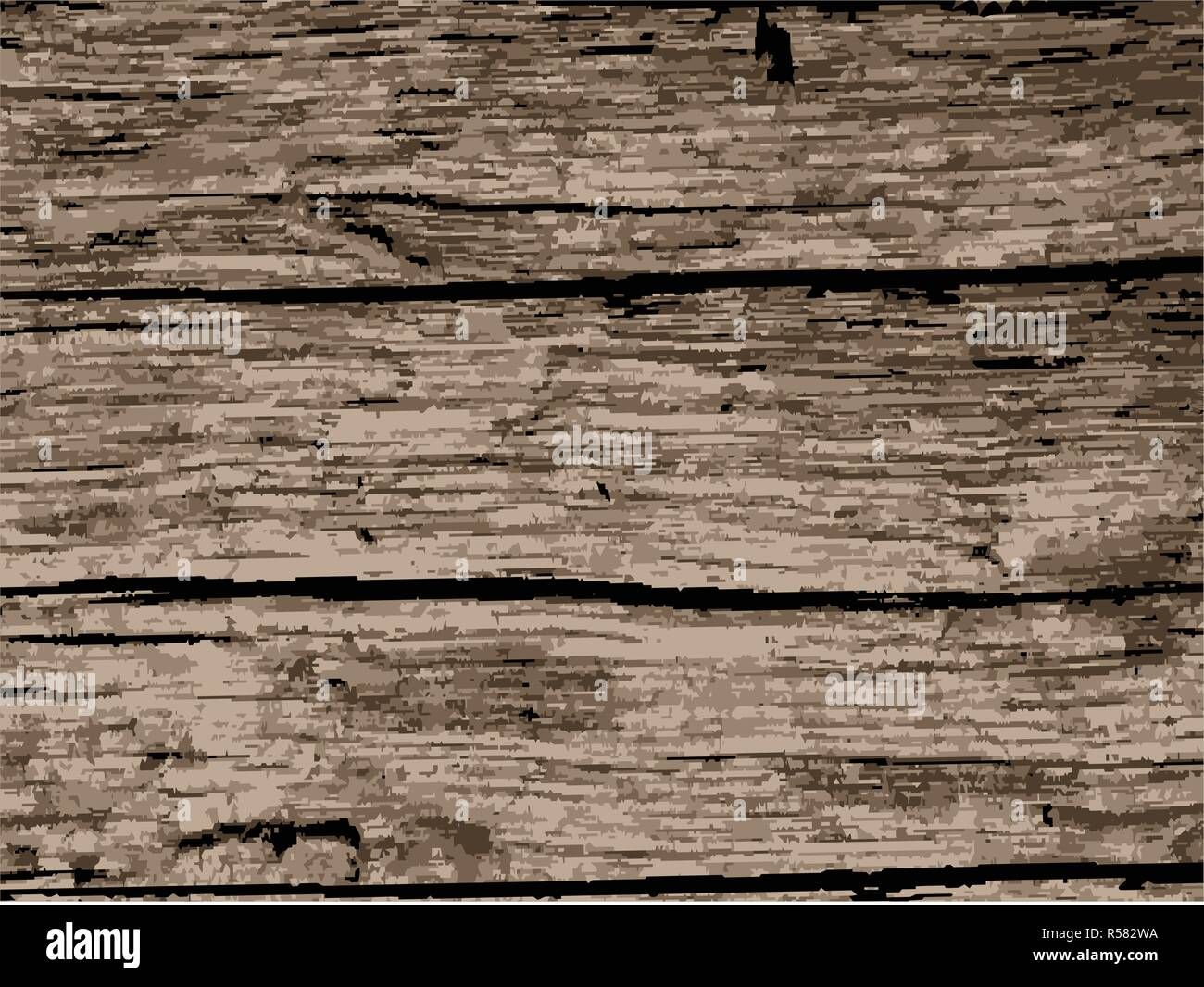 A Background Of Old Driftwood That Is Well Worn Stock Vector Image Art Alamy