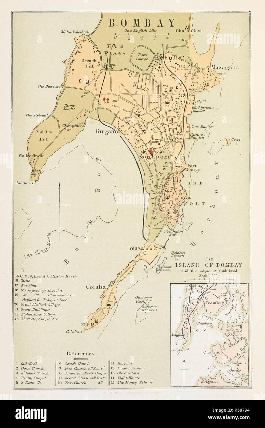 Map Of Mumbai Stock Photos & Map Of Mumbai Stock Images - Alamy Ya Yas Maps on venus map, alborz map, topaz map, eclipse map, bahram map, yak map, yall map, rising sun map,