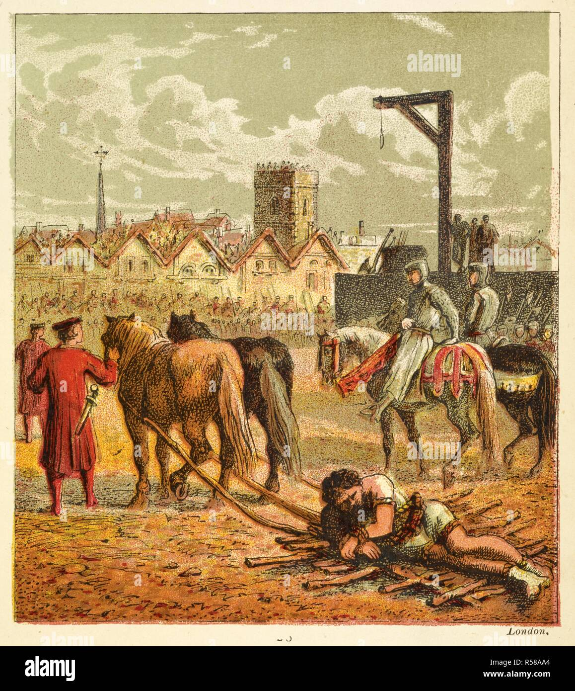 Wallace Executed Sir William Wallace Died 23 August 1305 Was