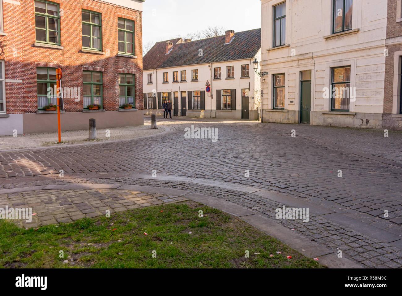 Belgium Street Front Stock Photos & Belgium Street Front