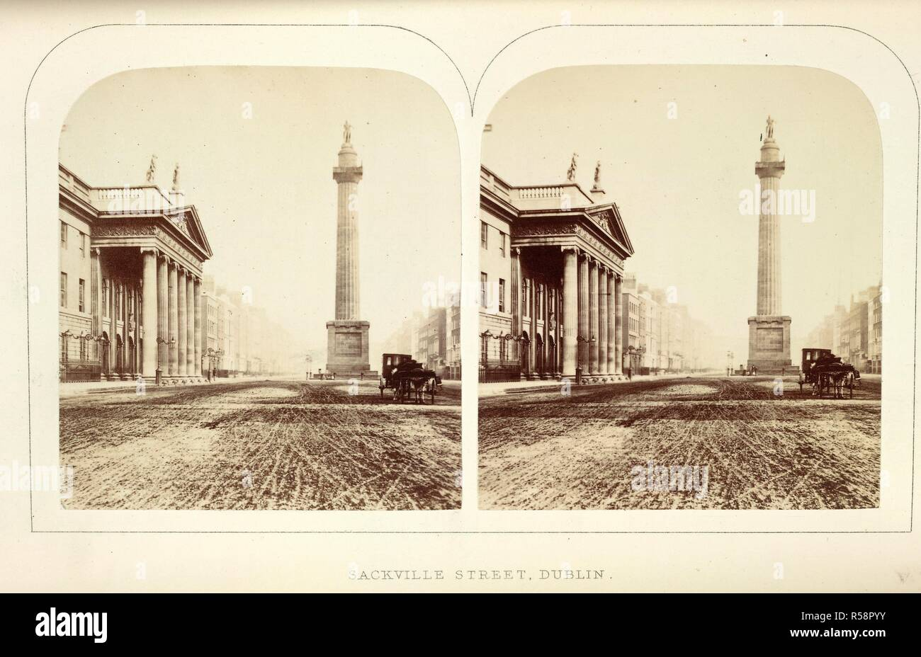 Sackville Street, Dublin  The Stereoscopic Magazine: a gallery of
