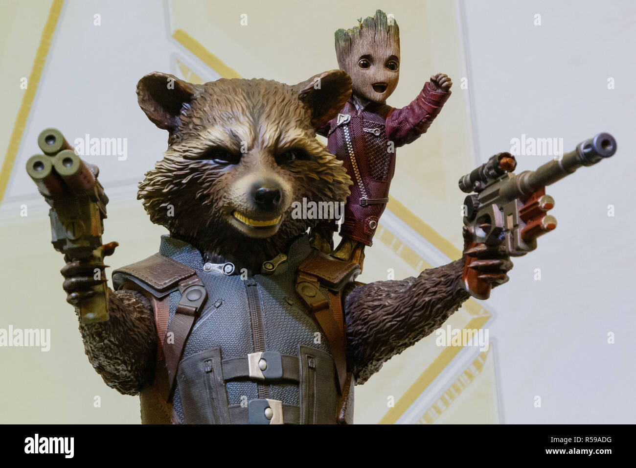 Rocket Raccoon Stock Photos & Rocket Raccoon Stock Images