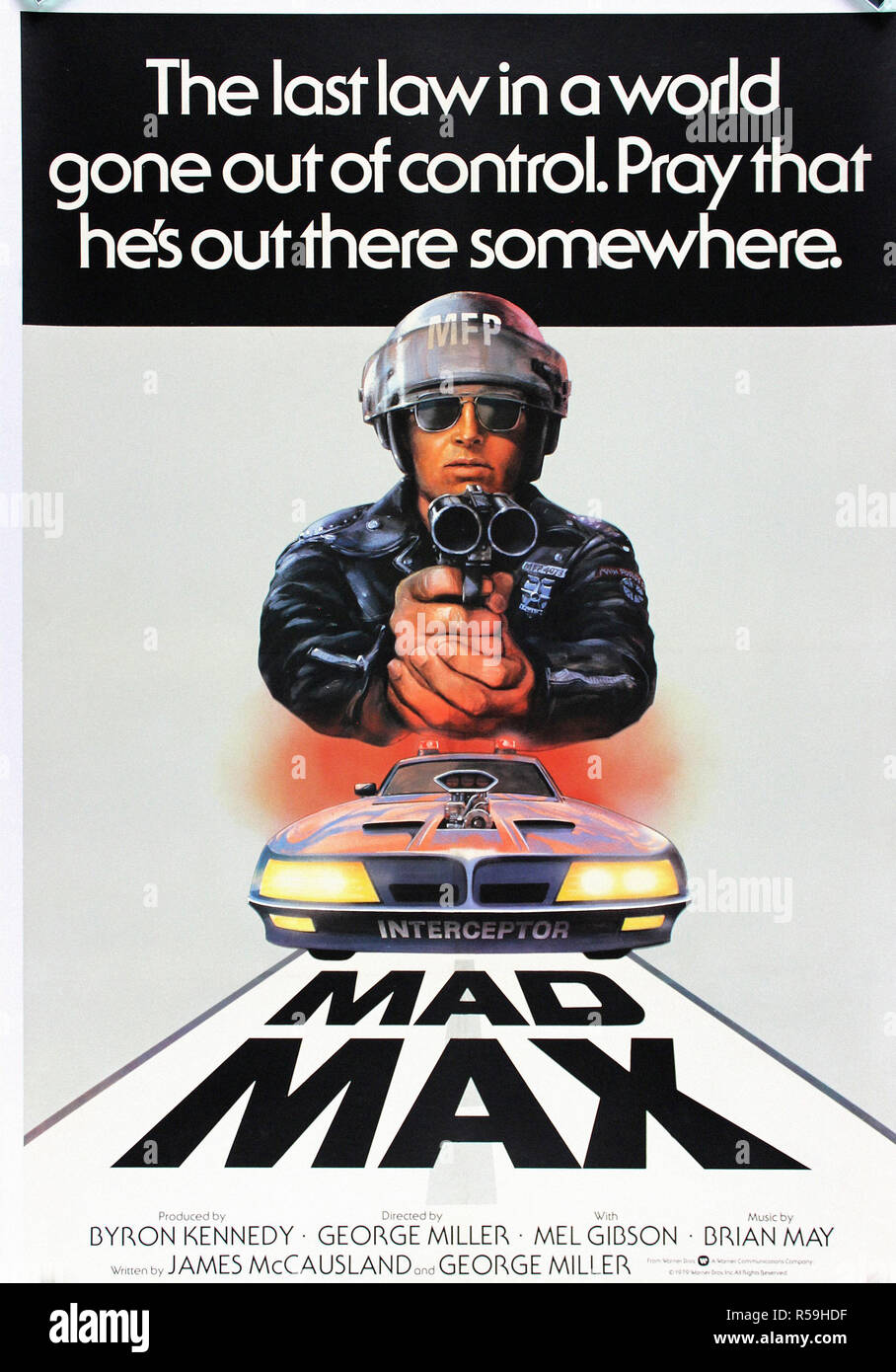 mad max original movie poster stock photo 227019339 alamy