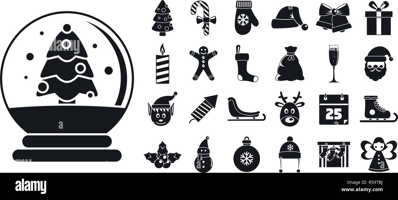 Happy Christmas Stock Vector Images - Alamy