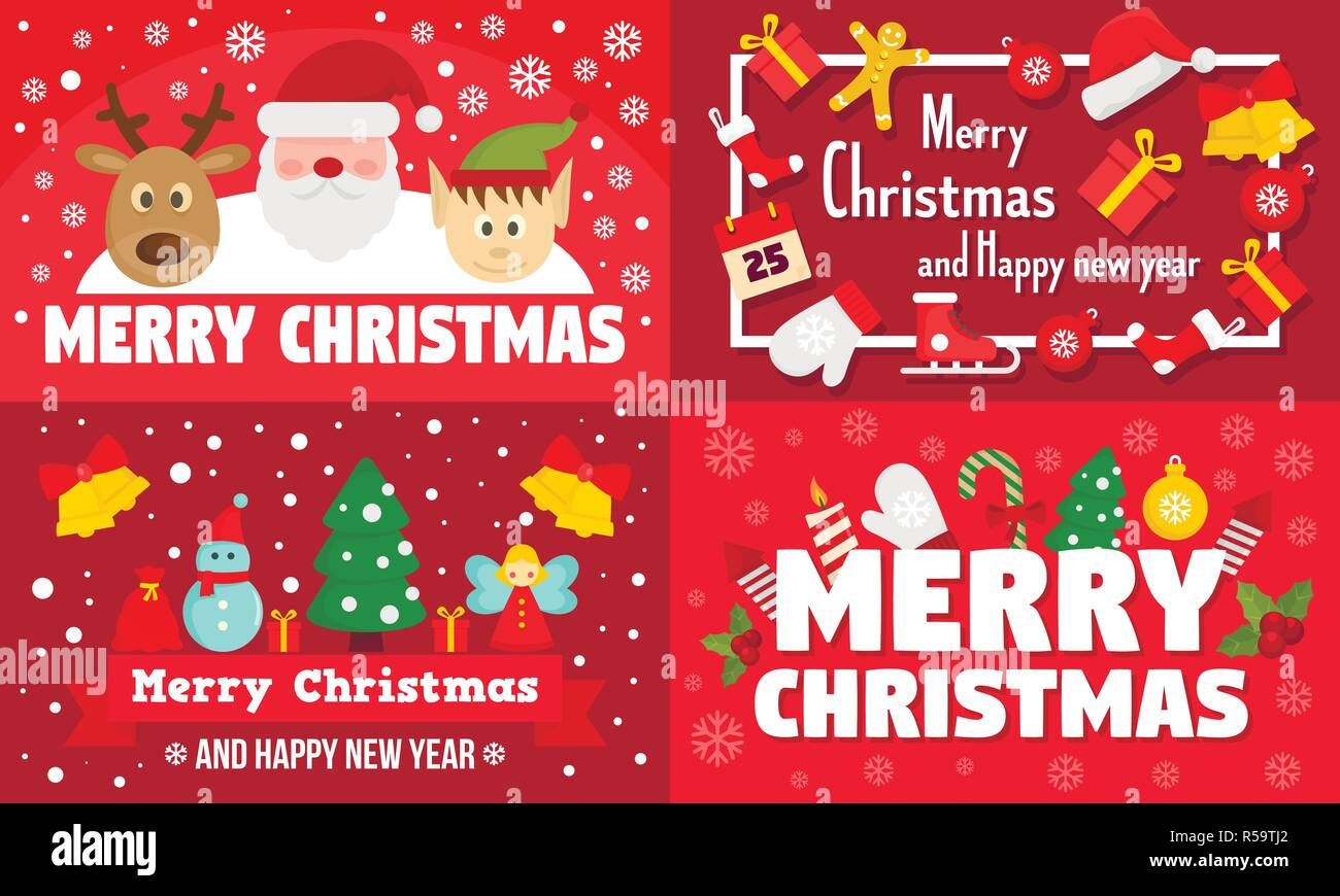 Download High Resolution Merry Christmas And Happy New Year Banner
