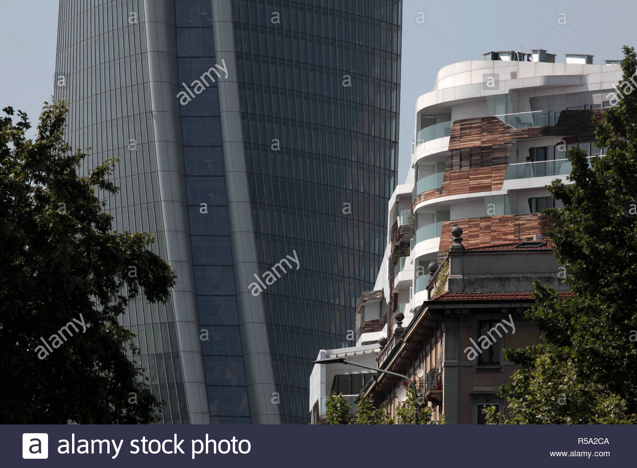 residenze hadid, citylife, milan Stock Photo