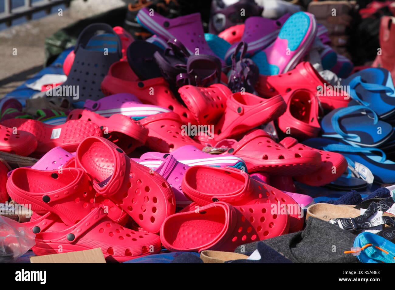 06d91c3931bdc Croc Shoe Stock Photos   Croc Shoe Stock Images - Alamy