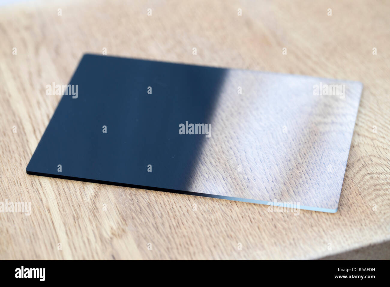 Graduated Filter; Photographic Equipment; UK - Stock Image
