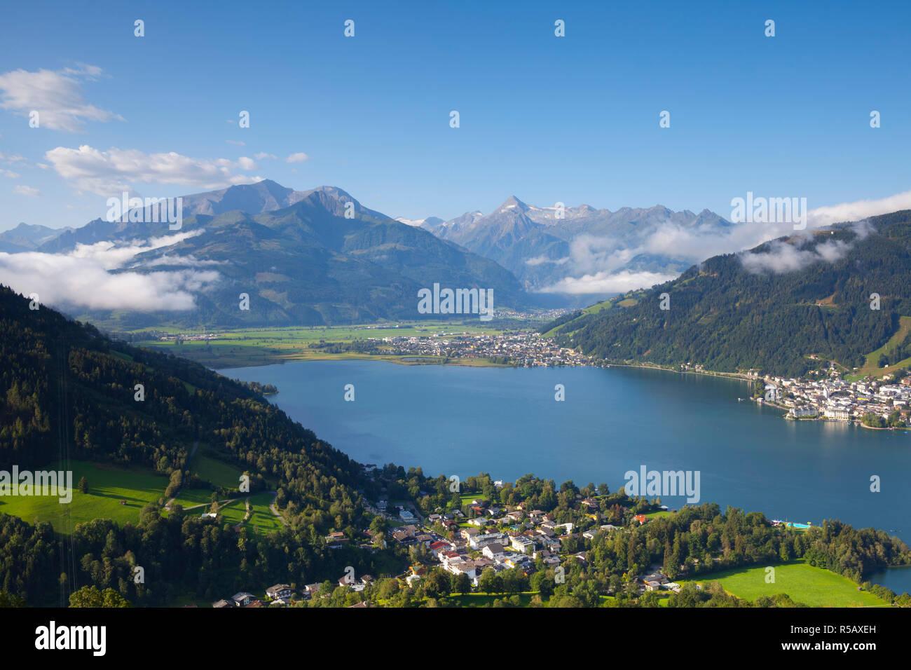 Lake Zell am See, Pinzgau, Salzkammergut, Austria Stock Photo