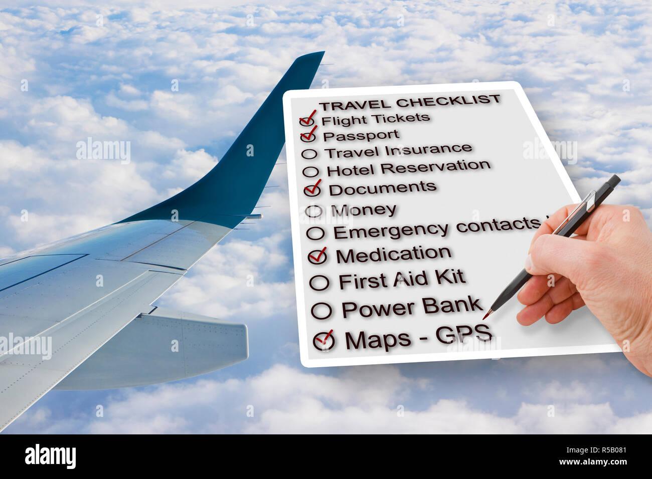 checklist airplane stock photos checklist airplane stock images