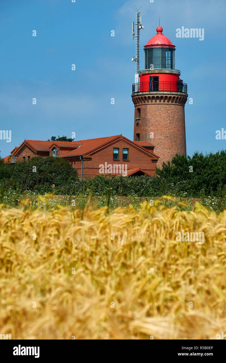 Lighthouse Buk near Bastorf, district of Rostock, Mecklenburg-Vorpommern, Germany - Stock Image