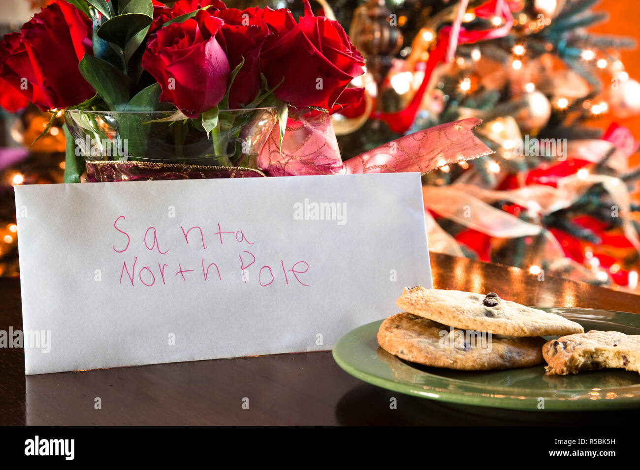Letter to Santa - Stock Image
