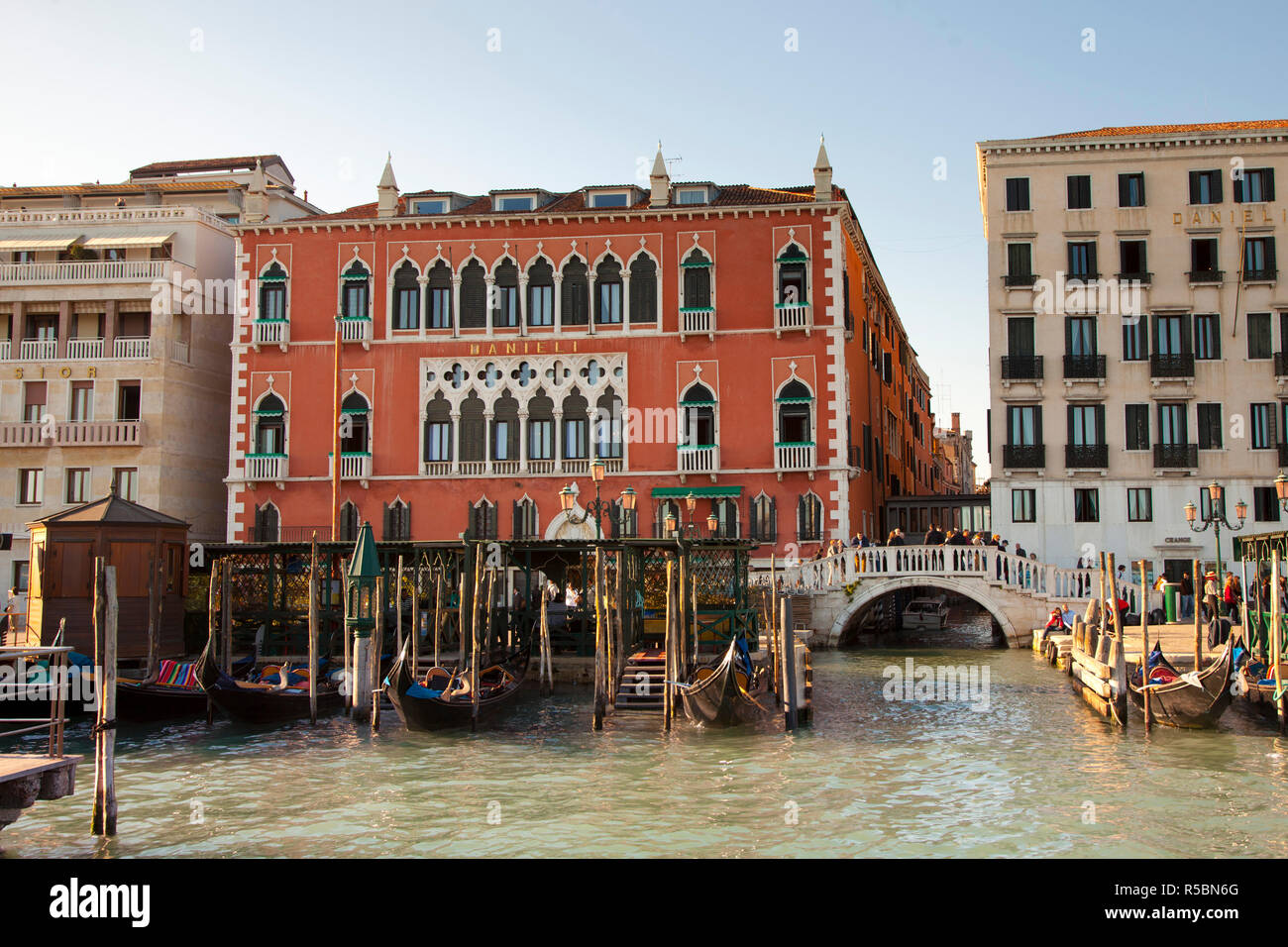 Hotel Danieli Venice Italy Stock Photo 227066184 Alamy