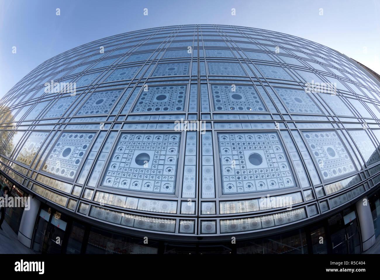 Arab Institute, Paris, France - Stock Image