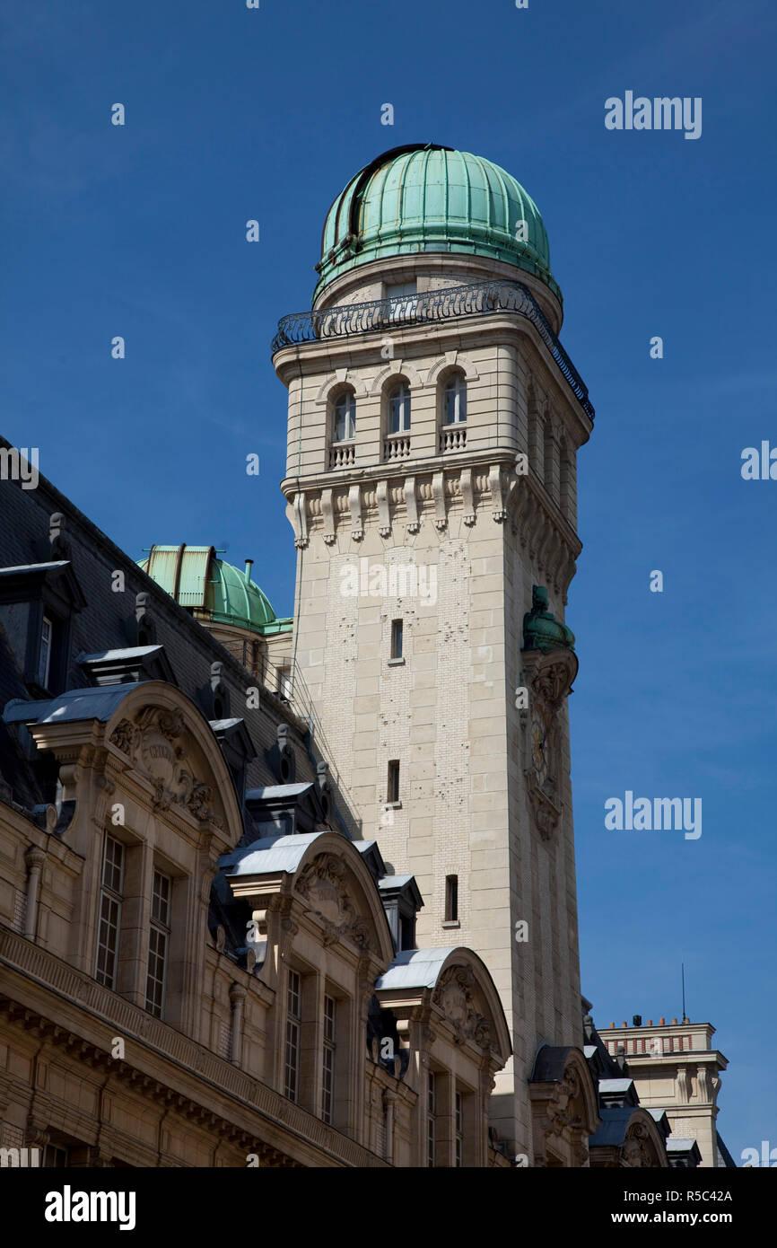 La Sorbonne (University of Paris), Latin Quarter, Paris, France - Stock Image