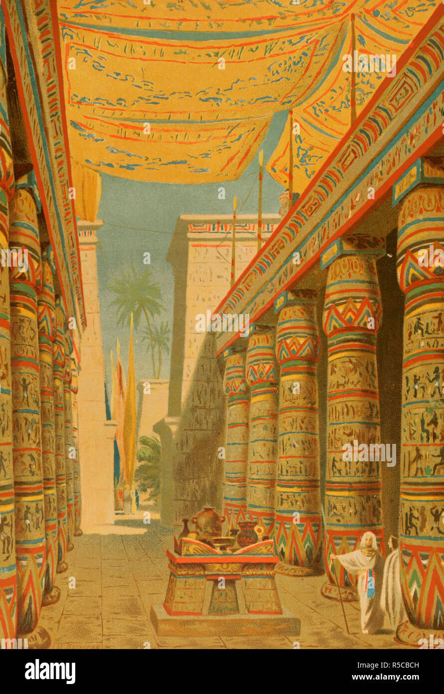 ancient egypt palace stock photos ancient egypt palace. Black Bedroom Furniture Sets. Home Design Ideas