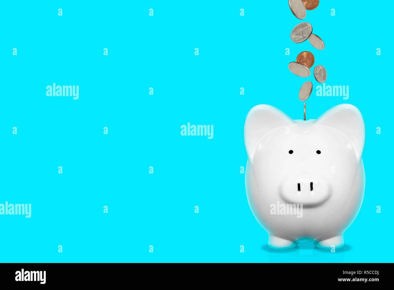 Piggybank finance concept - Stock Image