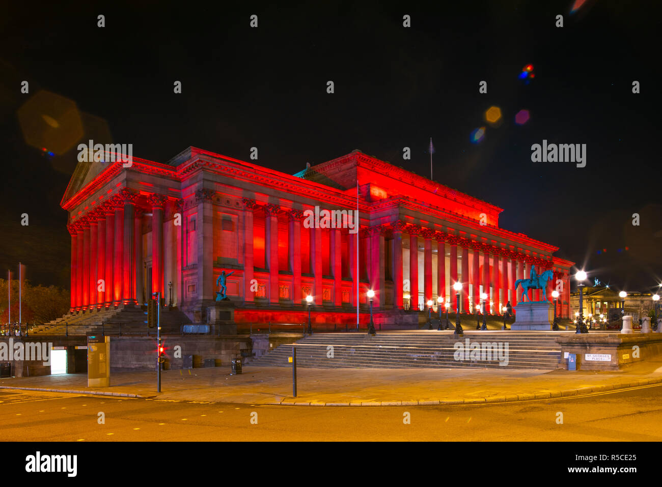 St Georges Hall, Armistice Day 11.11.2018. Credit PHILLIP ROBERTS - Stock Image